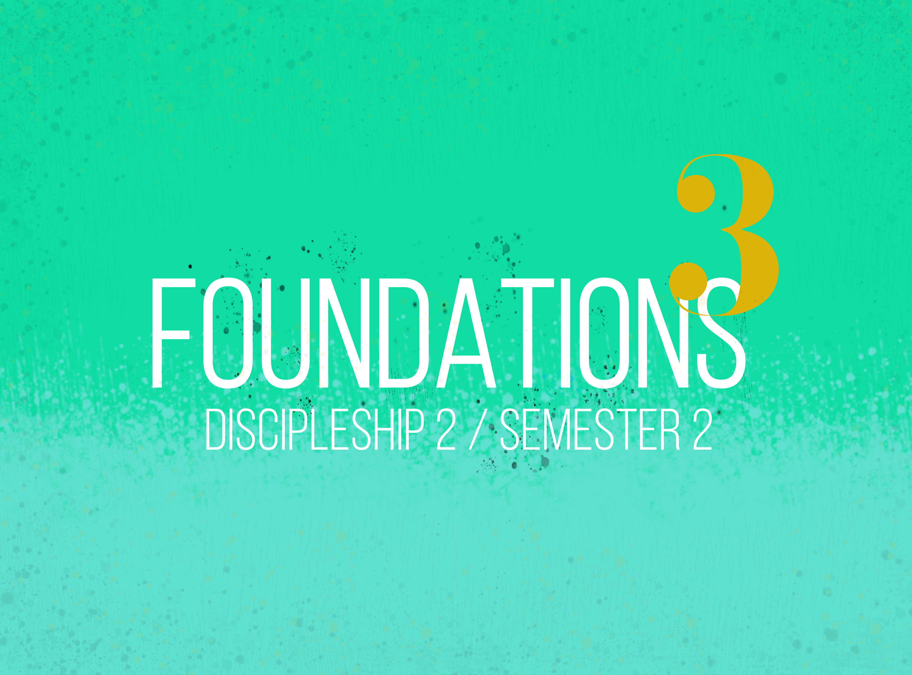 Foundations 3 - Online