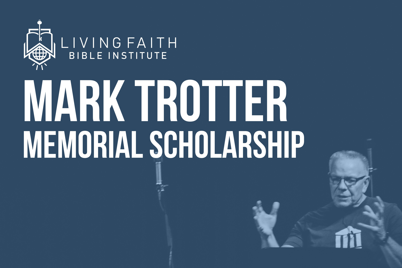 Mark Trotter Memorial Scholarship